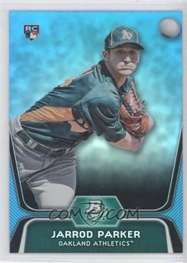 2012 Bowman Platinum - National Convention Wrapper Redemption [Base] - Platinum Blue #96 - Jarrod Parker /499