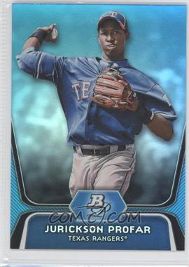 2012 Bowman Platinum - National Convention Wrapper Redemption Prospects - Platinum Blue #BPP35 - Jurickson Profar /499