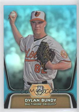 2012 Bowman Platinum - National Convention Wrapper Redemption Prospects - Platinum Blue #BPP64 - Dylan Bundy /499