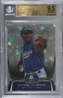 Keyvius Sampson [BGS 9.5 GEM MINT] #/5