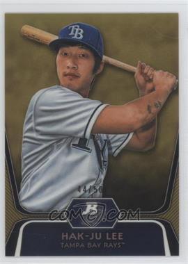 2012 Bowman Platinum - Prospects - Gold Refractor #BPP20 - Hak-Ju Lee /50