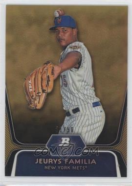 2012 Bowman Platinum - Prospects - Gold Refractor #BPP56 - Jeurys Familia /50