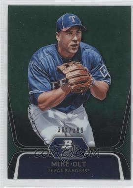 2012 Bowman Platinum - Prospects - Green Refractor #BPP30 - Mike Olt /399