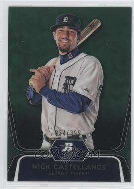 2012 Bowman Platinum - Prospects - Green Refractor #BPP97 - Nick Castellanos /399