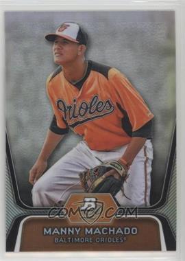 2012 Bowman Platinum - Prospects - Refractor #BPP23 - Manny Machado