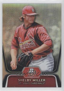 2012 Bowman Platinum - Prospects - Refractor #BPP27 - Shelby Miller