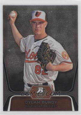 2012 Bowman Platinum - Prospects - Refractor #BPP64 - Dylan Bundy