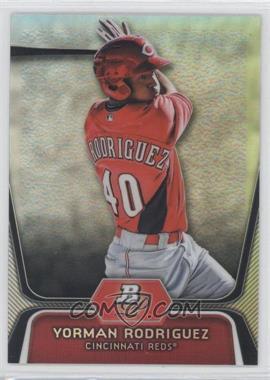 2012 Bowman Platinum - Prospects - Refractor #BPP68 - Yorman Rodriguez