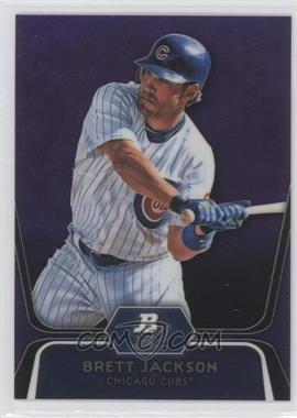 2012 Bowman Platinum - Prospects - Retail Purple Refractor #BPP19 - Brett Jackson