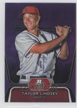 2012 Bowman Platinum - Prospects - Retail Purple Refractor #BPP21 - Taylor Lindsey