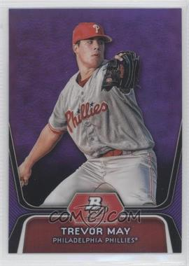 2012 Bowman Platinum - Prospects - Retail Purple Refractor #BPP25 - Trevor May