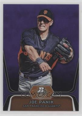 2012 Bowman Platinum - Prospects - Retail Purple Refractor #BPP32 - Joe Panik