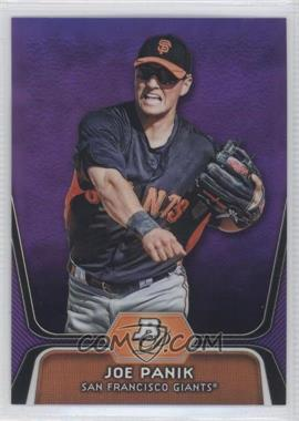 2012 Bowman Platinum - Prospects - Retail Purple Refractor #BPP32 - Joe Panik