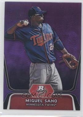 2012 Bowman Platinum - Prospects - Retail Purple Refractor #BPP39 - Miguel Sano