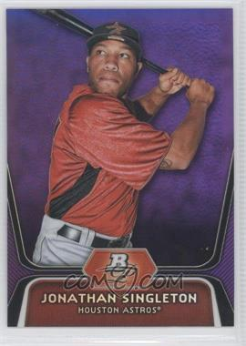 2012 Bowman Platinum - Prospects - Retail Purple Refractor #BPP41 - Jonathan Singleton