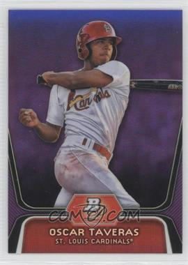 2012 Bowman Platinum - Prospects - Retail Purple Refractor #BPP51 - Oscar Taveras