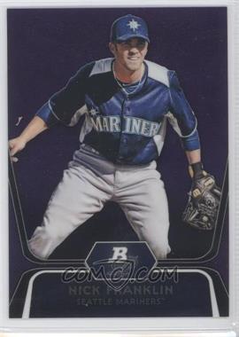 2012 Bowman Platinum - Prospects - Retail Purple Refractor #BPP54 - Nick Franklin