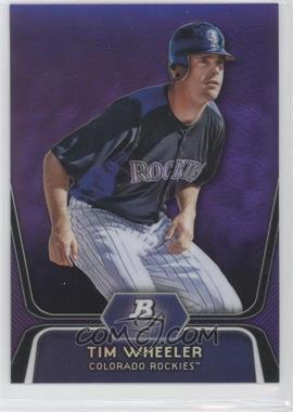 2012 Bowman Platinum - Prospects - Retail Purple Refractor #BPP57 - Tim Wheeler