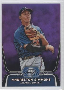 2012 Bowman Platinum - Prospects - Retail Purple Refractor #BPP76 - Andrelton Simmons
