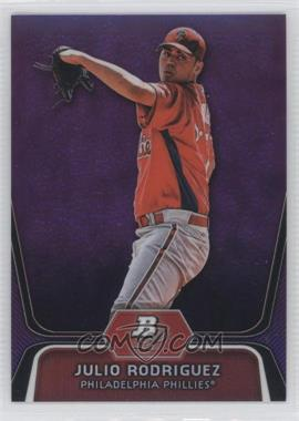 2012 Bowman Platinum - Prospects - Retail Purple Refractor #BPP77 - Julio Rodriguez
