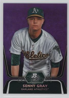 2012 Bowman Platinum - Prospects - Retail Purple Refractor #BPP78 - Sonny Gray