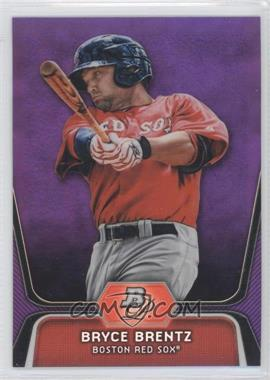 2012 Bowman Platinum - Prospects - Retail Purple Refractor #BPP92 - Bryce Brentz