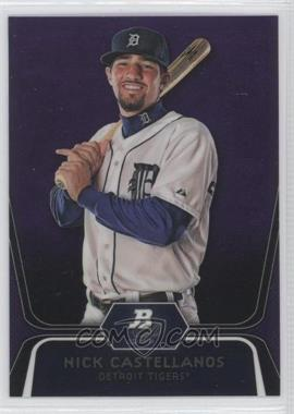 2012 Bowman Platinum - Prospects - Retail Purple Refractor #BPP97 - Nick Castellanos