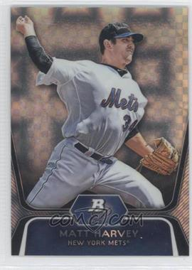 2012 Bowman Platinum - Prospects - X-Fractor #BPP18 - Matt Harvey