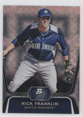 2012 Bowman Platinum - Prospects - X-Fractor #BPP54 - Nick Franklin