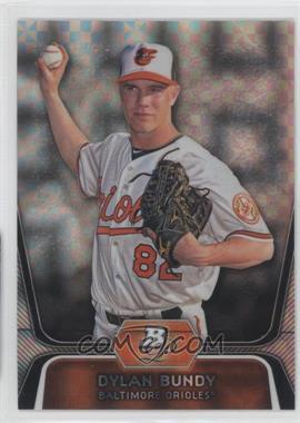 2012 Bowman Platinum - Prospects - X-Fractor #BPP64 - Dylan Bundy