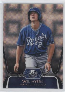 2012 Bowman Platinum - Prospects - X-Fractor #BPP80 - Wil Myers