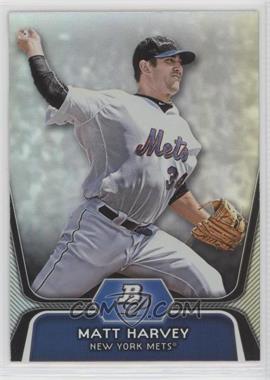 2012 Bowman Platinum - Prospects #BPP18 - Matt Harvey