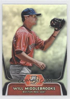 2012 Bowman Platinum - Prospects #BPP26 - Will Middlebrooks