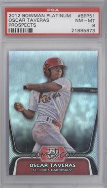 2012 Bowman Platinum - Prospects #BPP51 - Oscar Taveras [PSA8]