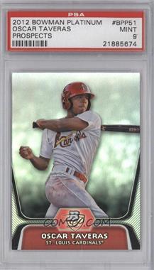 2012 Bowman Platinum - Prospects #BPP51 - Oscar Taveras [PSA9]