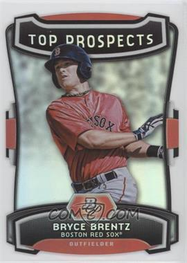 2012 Bowman Platinum - Top Prospects - Die-Cut #TP-BB - Bryce Brentz /25