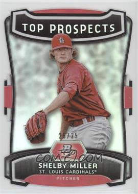 2012 Bowman Platinum - Top Prospects - Die-Cut #TP-SM - Shelby Miller /25