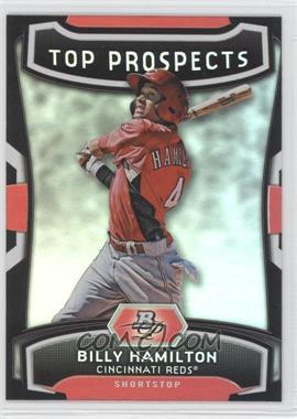 2012 Bowman Platinum - Top Prospects #TP-BH - Billy Hamilton