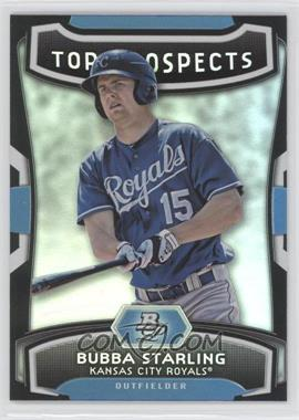 2012 Bowman Platinum - Top Prospects #TP-BS - Bubba Starling