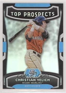 2012 Bowman Platinum - Top Prospects #TP-CY - Christian Yelich