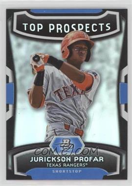 2012 Bowman Platinum - Top Prospects #TP-JP - Jurickson Profar