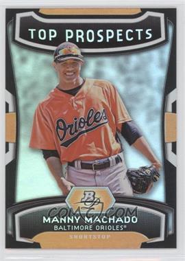 2012 Bowman Platinum - Top Prospects #TP-MM - Manny Machado