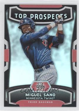 2012 Bowman Platinum - Top Prospects #TP-MS - Miguel Sano
