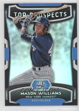 2012 Bowman Platinum - Top Prospects #TP-MW - Mason Williams