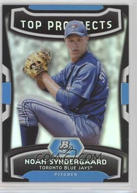2012 Bowman Platinum - Top Prospects #TP-NS - Noah Syndergaard