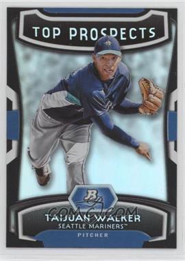2012 Bowman Platinum - Top Prospects #TP-TJW - Taijuan Walker