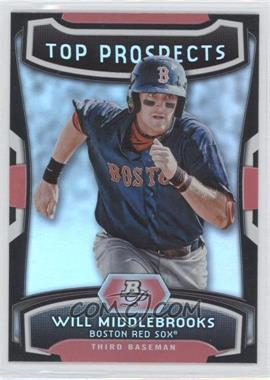 2012 Bowman Platinum - Top Prospects #TP-WMK - Will Middlebrooks