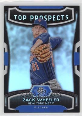 2012 Bowman Platinum - Top Prospects #TP-ZW - Zack Wheeler