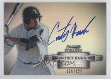 2012 Bowman Sterling - Autograph - Refractor #BSAP-CH - Courtney Hawkins /199