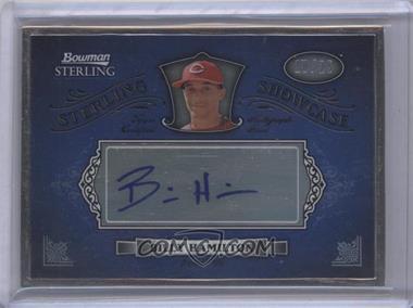 2012 Bowman Sterling - Autograph Showcase #SAS-BHA - Billy Hamilton /25